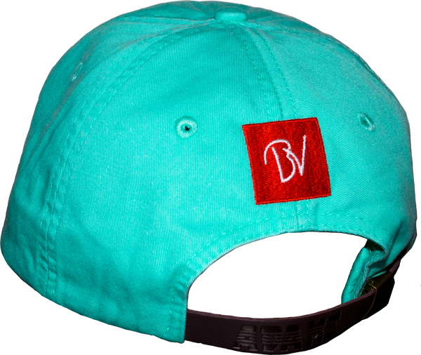 Buttery Vibes Butter Mouth Hat Blue