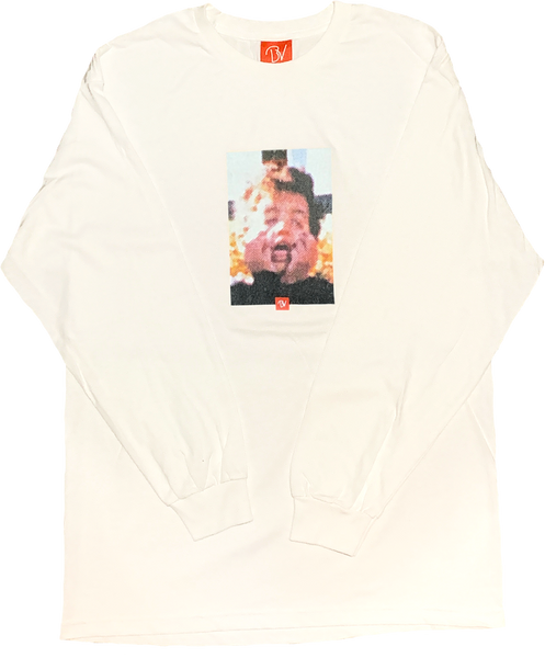 Buttery-Vibes-Afro-Kid-Long-Sleeve-Tee-White