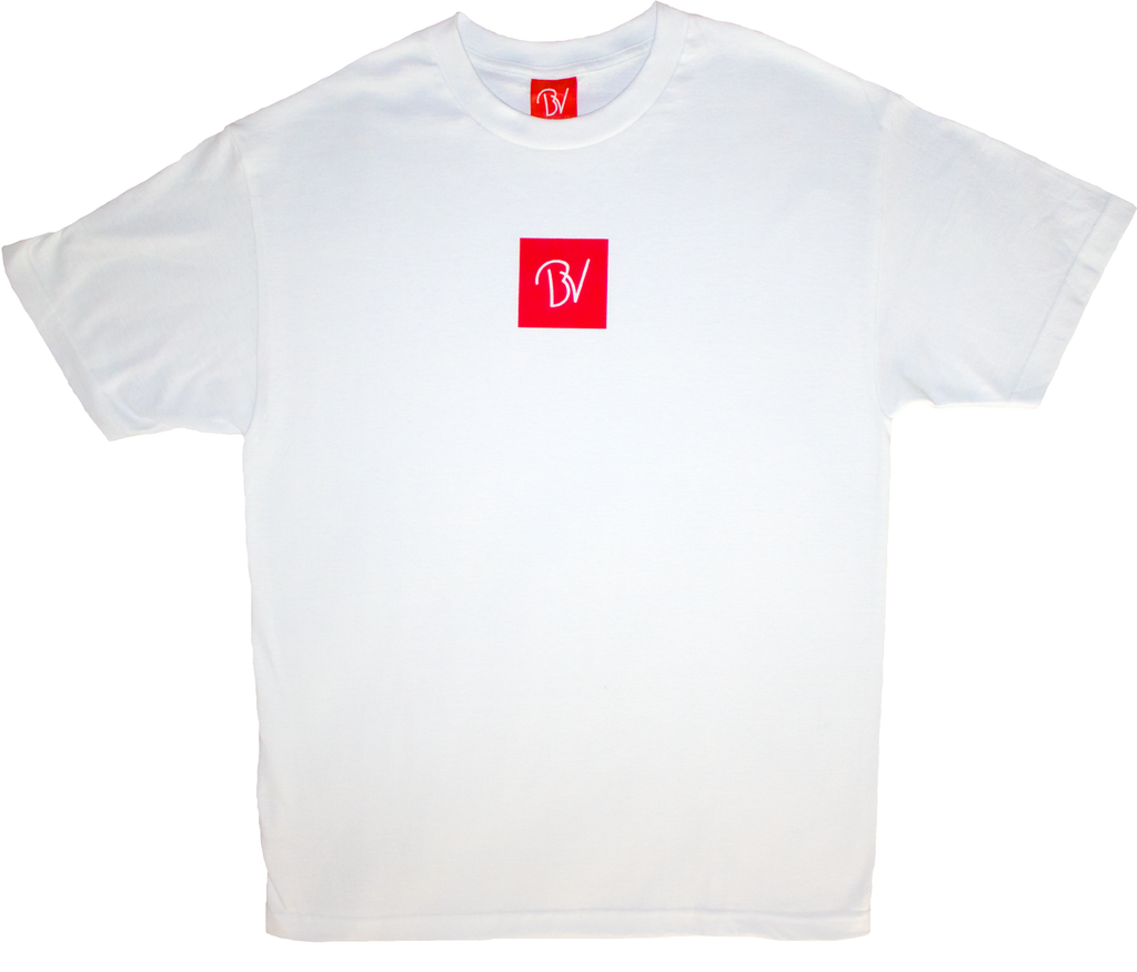 Buttery Vibes White Tee Spring Summer Collection