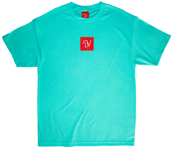 Buttery Vibes Winners Blue Tee Spring Summer Collection