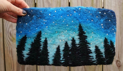 Needle Felted Forest