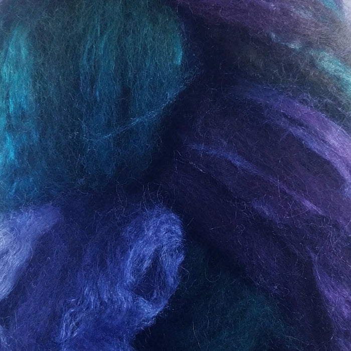 Frabjous Fibers Hand-Dyed Bluefaced Leicester and Silk Blend