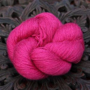 Hucklberry Knits - Blue Faced Leiscester & Silk DK