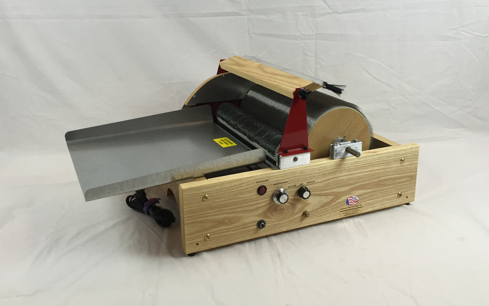 Strauch Finest - Double Wide Chain Drive Drum Carder