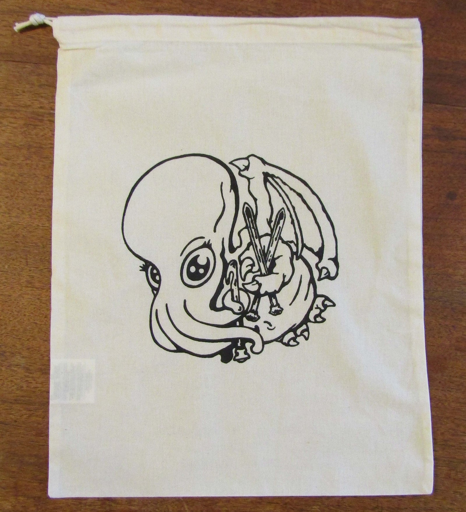Silk-Screened Project Bag