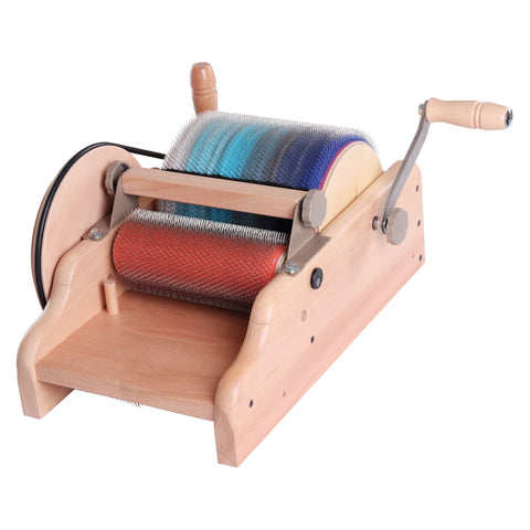 Strauch Mad Batt'r - Double Wide Chain Drive Drum Carder