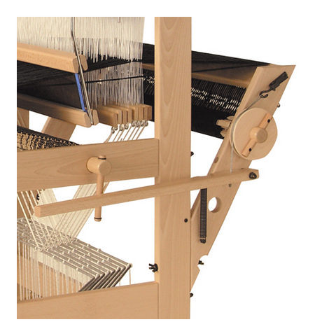 Louet David 8-Harness Loom Warpbeam with Back Beam