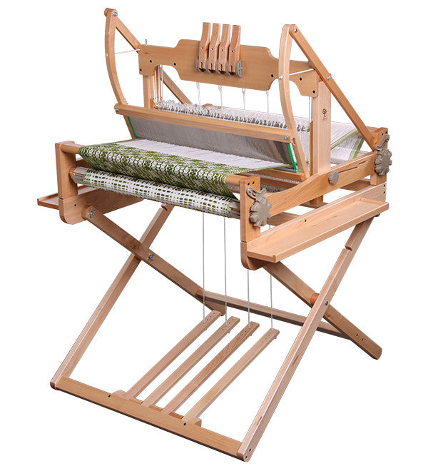 Ashford Table Loom Stand and Treadle Kit - Compatible with 4-Shaft & 8-Shaft Loom
