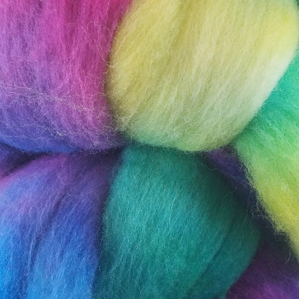 Frabjous Fibers Organic Polwarth Wool Top