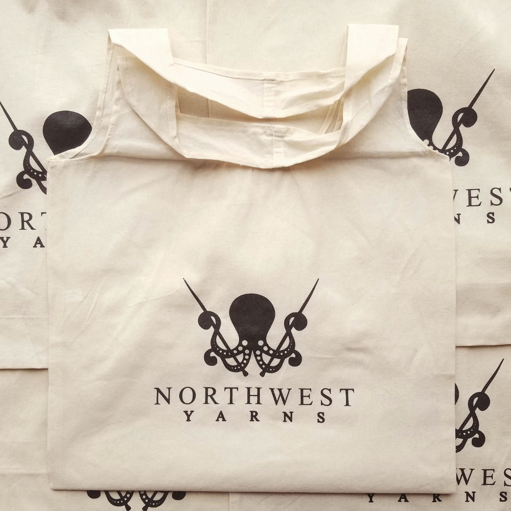 Northwest Yarns Logo Tote