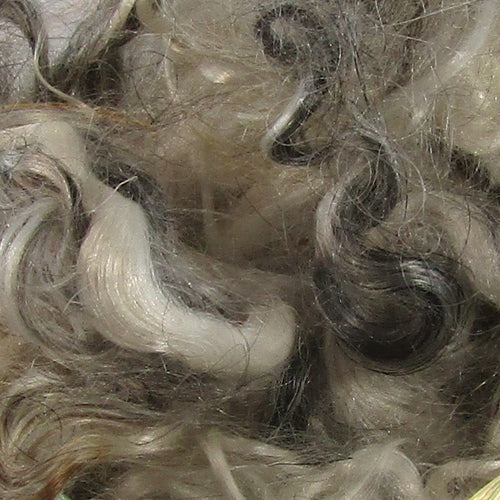 Undyed Mohair Locks 1oz