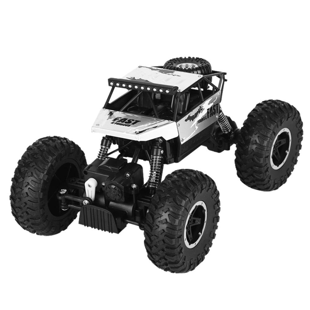 Costbuys  Alloy Climbing Car Bigfoot Climbing Car Four-wheel Drive Remote Control Toy Model Children Off-road Remote Control RC