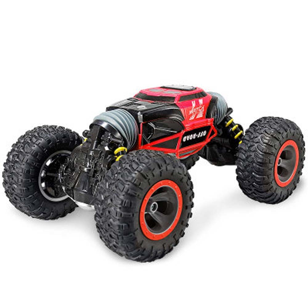 Costbuys  1:16 Scale Double-sided 2.4GHz RC Car One Key Transform All-terrain Off-Road Vehicle Varanid Climbing Truck Remote Con