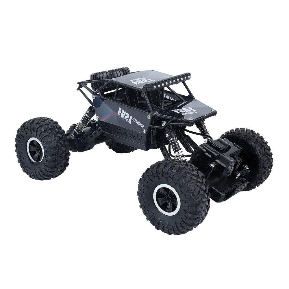 Costbuys  1:16 Off-road remote control car four-wheel drive climbing car 2.4G remote control toy car children's toys - Black