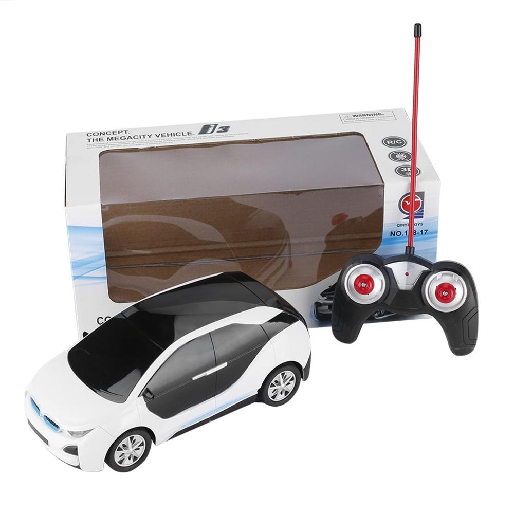 Costbuys  1:18 Electric RC Cars Toy Simulation Radio Remote Control Toys Vehicle Toys with 3D Lights Toys Gift for Children Kids