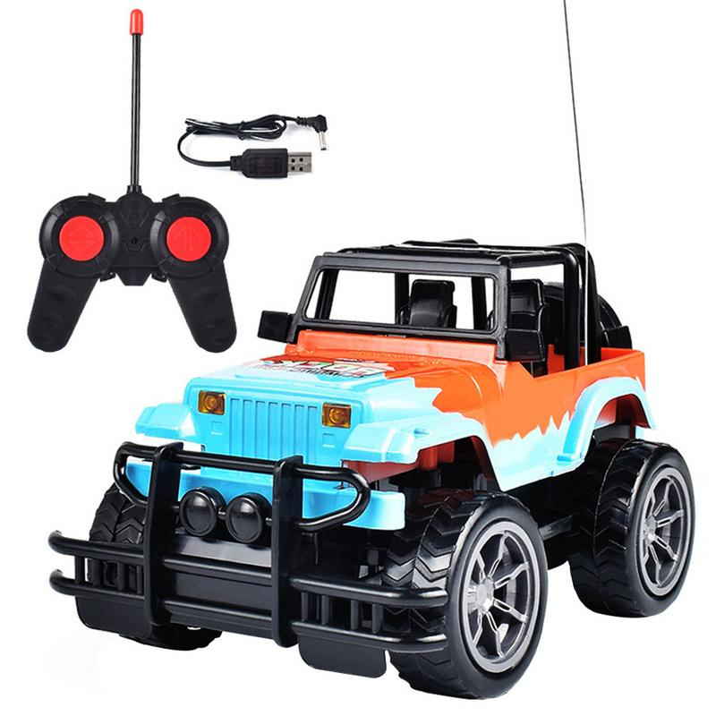 Costbuys  Four-Way RC Car  High Speed SUV  Rover Double Motors Big Foot Cars Remote Control Radio Controlled Off Road Car Toys -