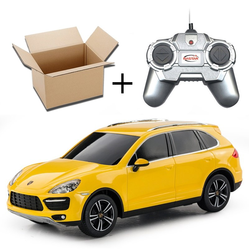 Costbuys  1:24 RC Car Remote Control Toys Cars On The Radio Controlled Toys For Boys Girls Children Gifts Kids Toys Cayenne No B