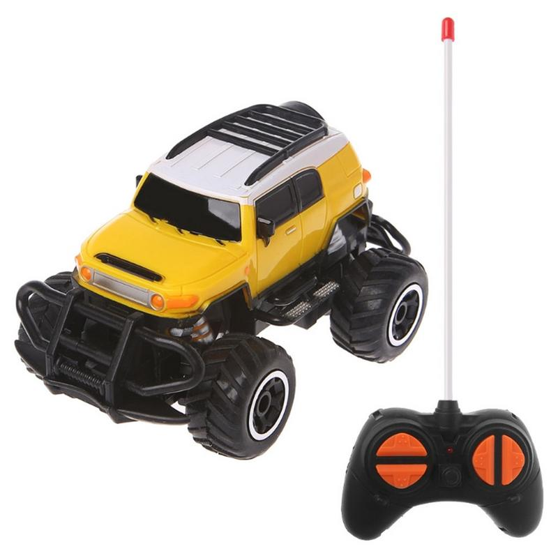 Costbuys  1:43 Mini Remote Control Car Off-road 4 Channel Electric Model Toy Remote Control Toy Children Gift Toy - E
