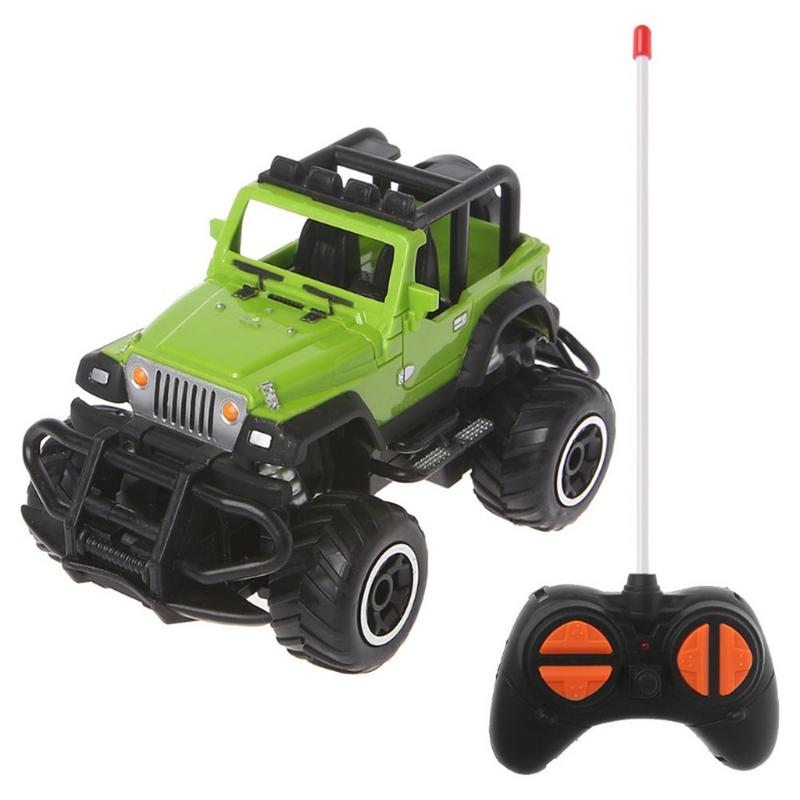 Costbuys  1:43 Mini Remote Control Car Off-road 4 Channel Electric Model Toy Remote Control Toy Children Gift Toy - A