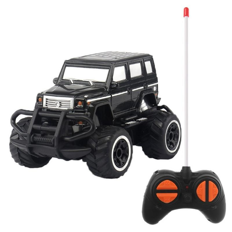 Costbuys  1:43 Mini Remote Control Car Off-road 4 Channel Electric Model Toy Remote Control Toy Children Gift Toy - B