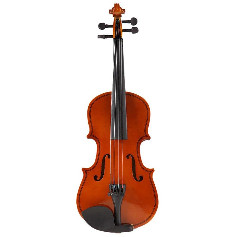 Costbuys  1/8 Size Matte Natural Acoustic Violin Fiddle with Case Bow Rosin Stringed Musical Instrument For Boys Girls Kids Chil