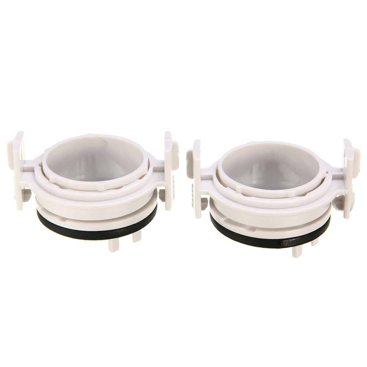 Costbuys  1 Pair High Quality H7 HID Bulb Conversion Adapter Holder for BMW E46 3 Series 1999 - 2006 White No Bulbs Car Accessor
