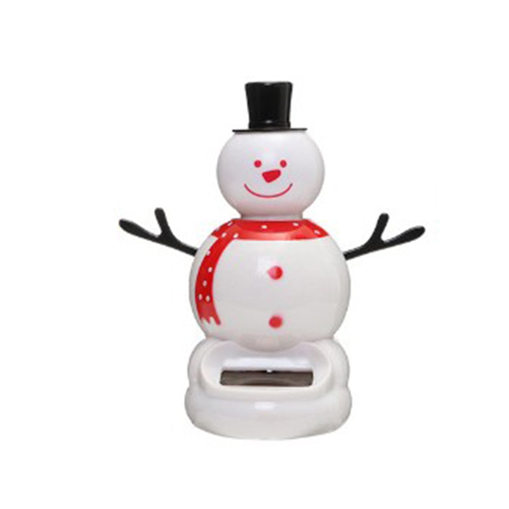 Costbuys  1 Pcs Cute Solar Powered Dancing Swinging Bobble Doll Toy Car Christmas Home Decoration Car Accessories - 3