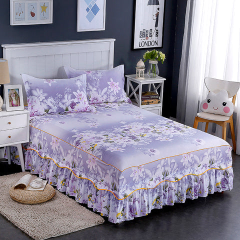 3/4 PCS Solid Soft Bedlinen Washed Cotton Naked Bedding Sets Twin Full Queen King Size Duvet Cover Pillowcase Flat Bedsheet
