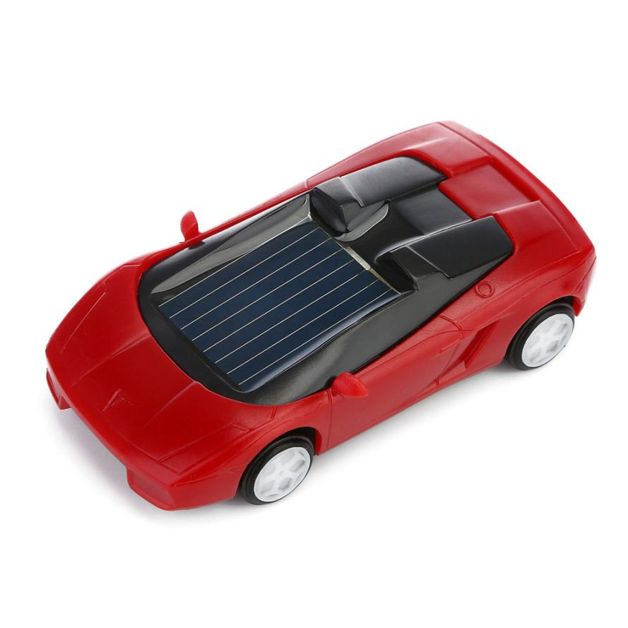 Costbuys  100% Brand new and high quality Solar Powered Mini Car Racer Toy For Kids Solar Energy Educational Gadget Gift 2sw0628
