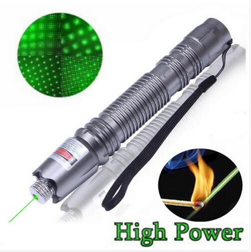 Costbuys  10000m 532nm 2in1 Laser Pointer High Powered Adjustable Focus Burning Match Green Laser Pointer Pen 10000m - 5mW