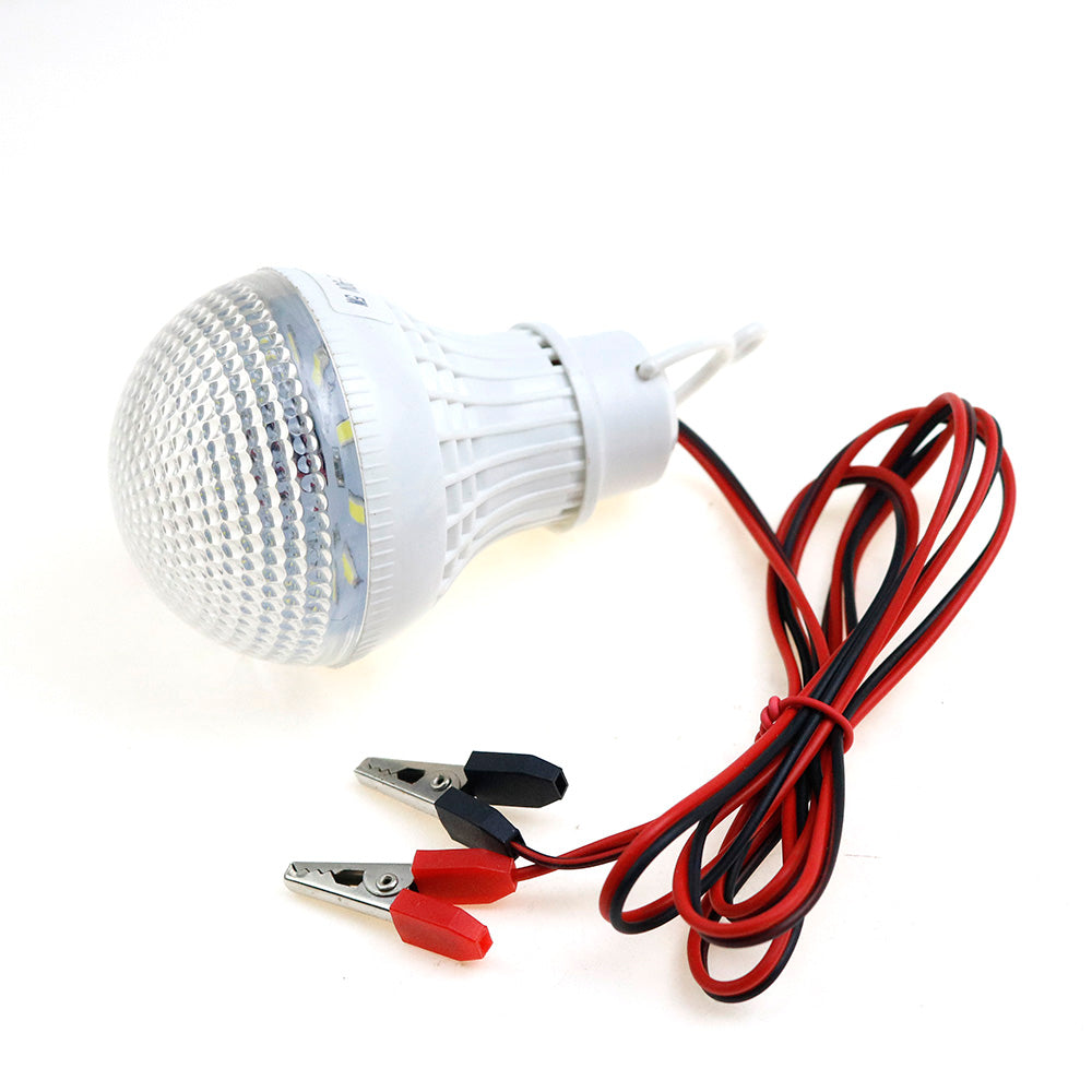 Costbuys  100PCS LED Lamps Portable Tent Camping Light SMD5730 Bulbs Outdoor Night Fishing Hanging Light Battery Lighting 5W DC1
