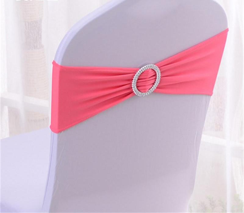 Costbuys  10Pcs/Set High-Grade Fasion Stretch Chair Sashes chair bowknot Decoration Chair cover spend hotel wedding Chair Sashes