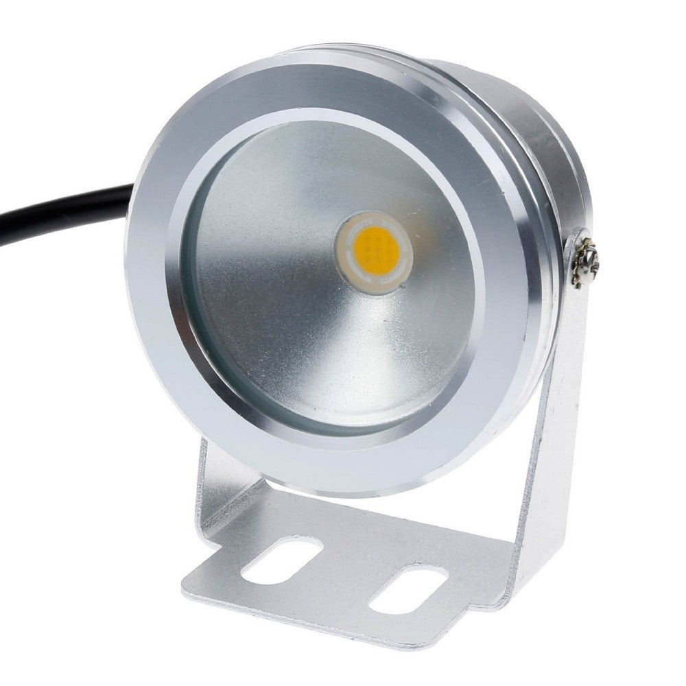 Costbuys  10W LED Swimming Pool Light Underwater Waterproof IP65 Landscape Lamp Warm/Cold White AC/DC 12V 900LM - Warm White
