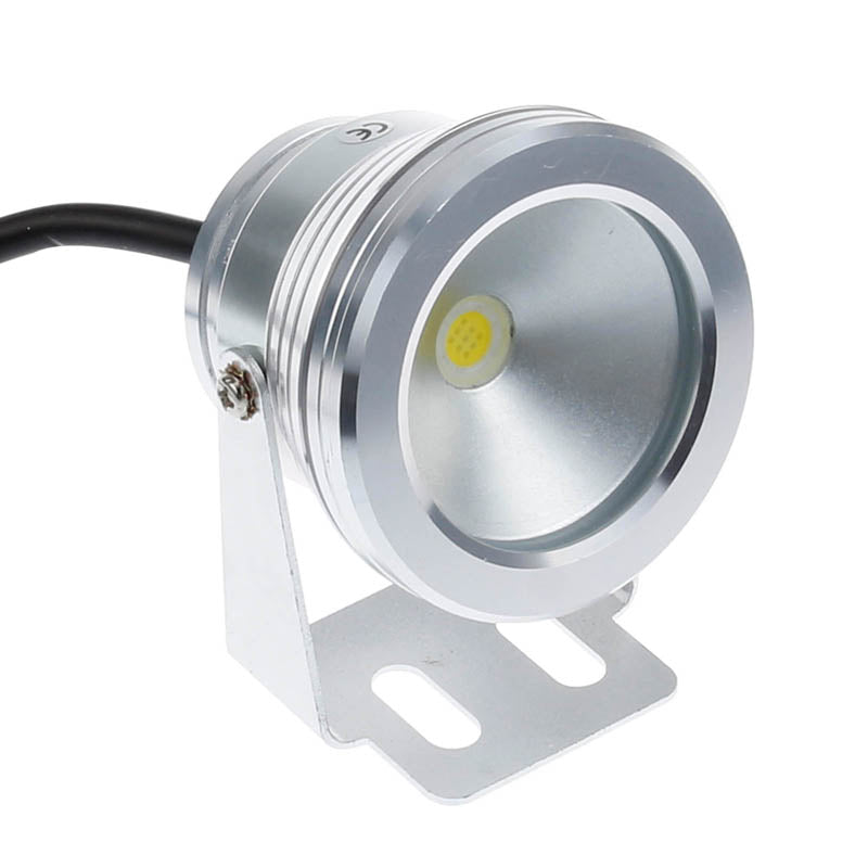 Costbuys  10W LED Swimming Pool Light Underwater Waterproof IP68 Landscape Lamp Warm/Cold White AC/DC 12V 900LM - Warm White / 1