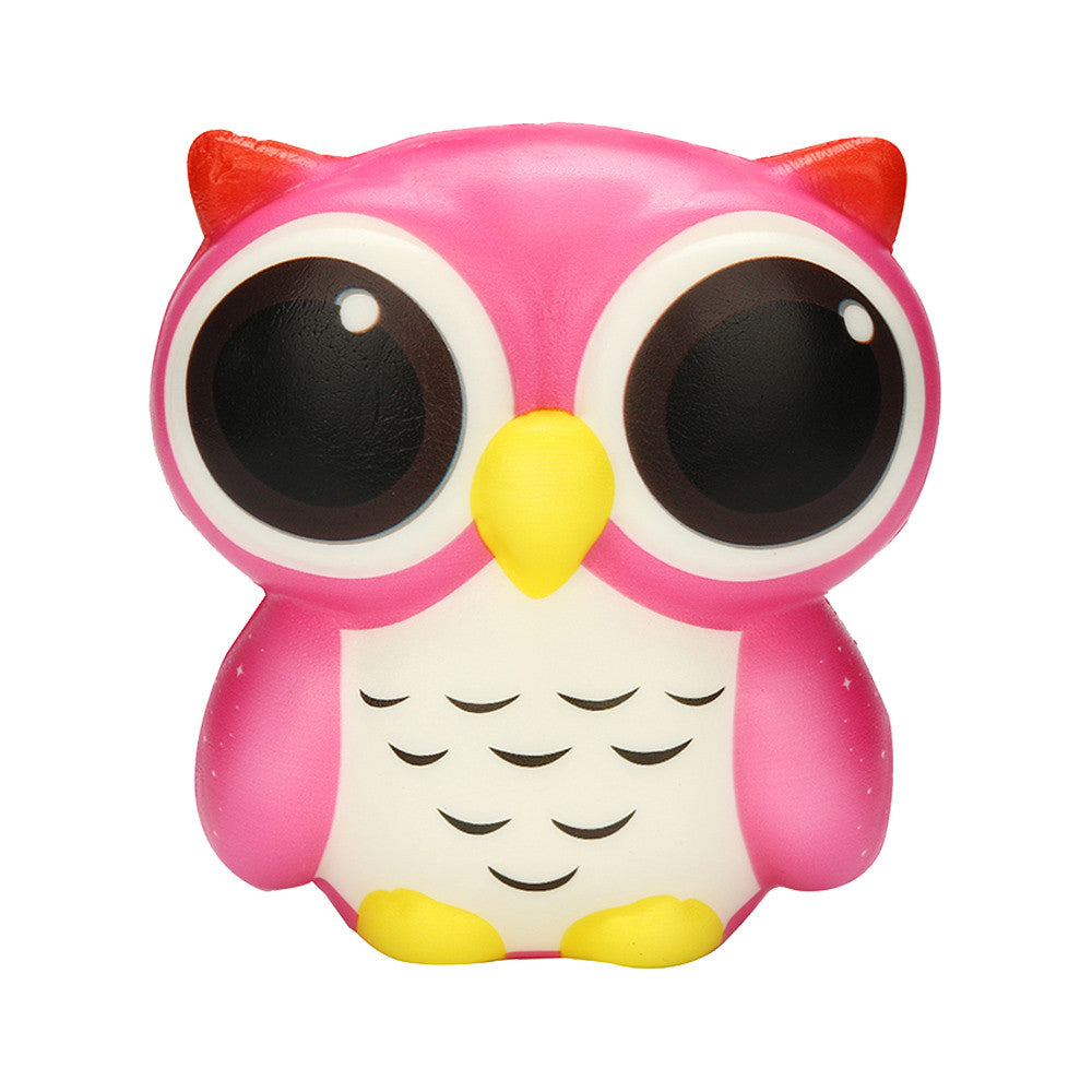Costbuys  10cm Exquisite Fun Adorable Owl Slow Rising Cartoon Doll Cream Scented Stress Relief Toy Antistress Toys For Kids Nove