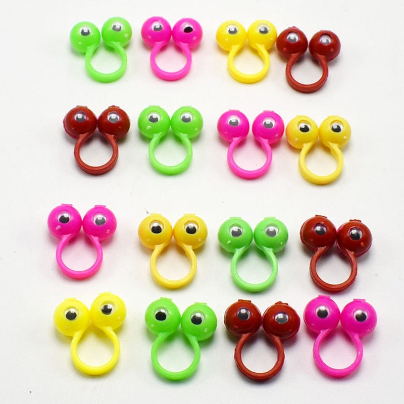 Costbuys  10pcs/set New Gags Practical Jokes Novelty Funny Hands Toy Puppets Funny Eyes Anti Stress Toys for Kids Children Chris