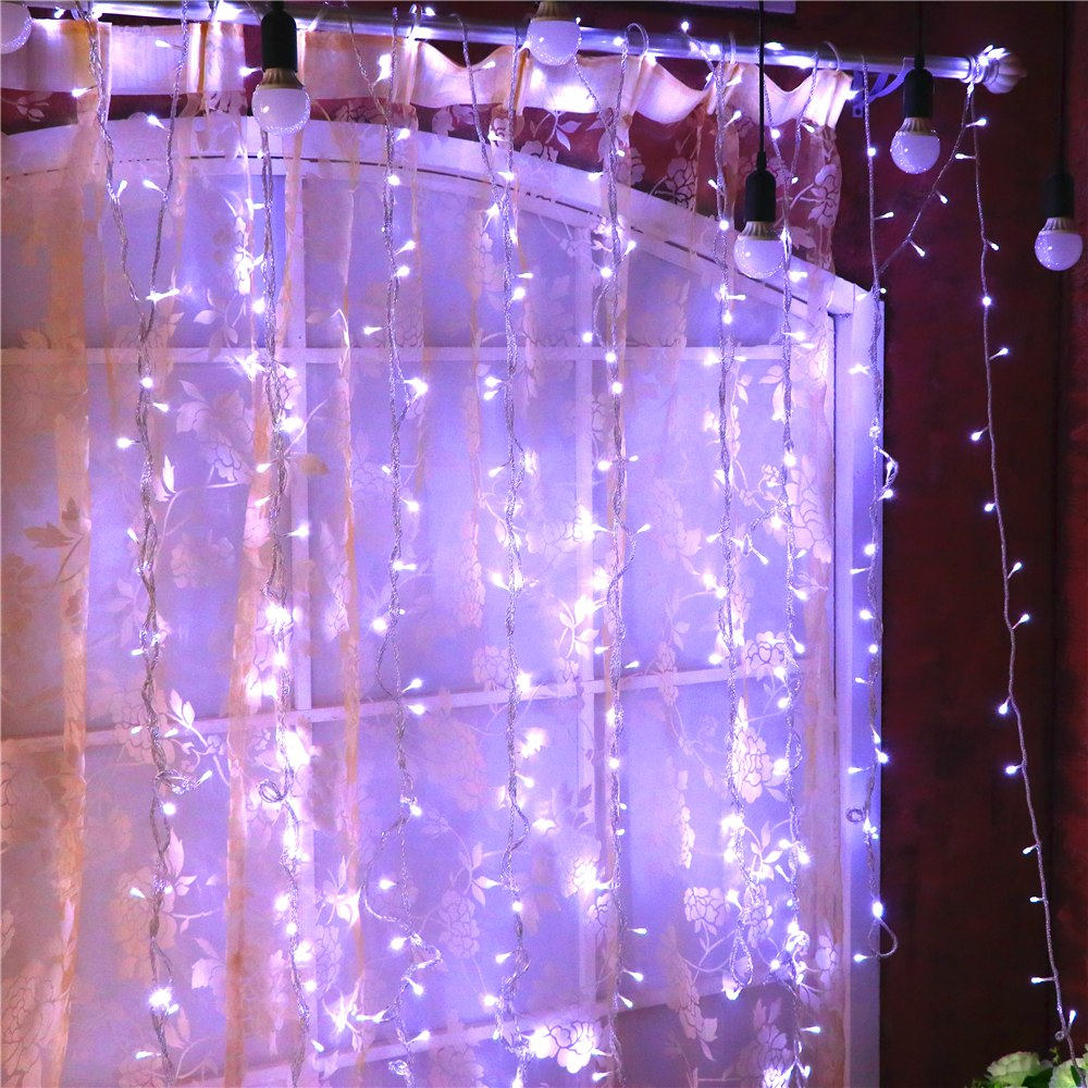 "1181.1"" 300 bulbs string lights fairy LED lights decoration Christmas garland wedding party garden decorations holiday lighting"