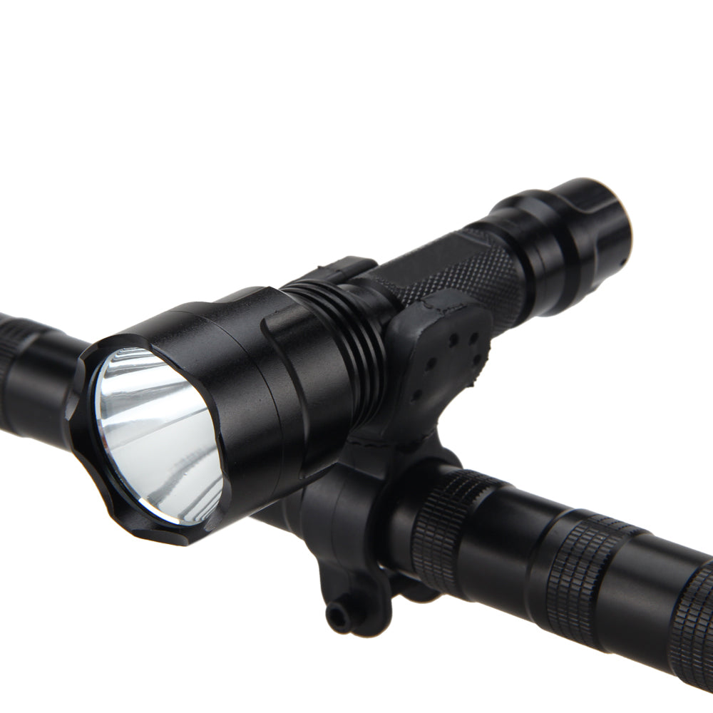 Costbuys  1200Lm Q5 LED Mount Front Bicycle Light Bike Lamp Flashlight Torch Head Bike Bicycle Light no batteries and charger