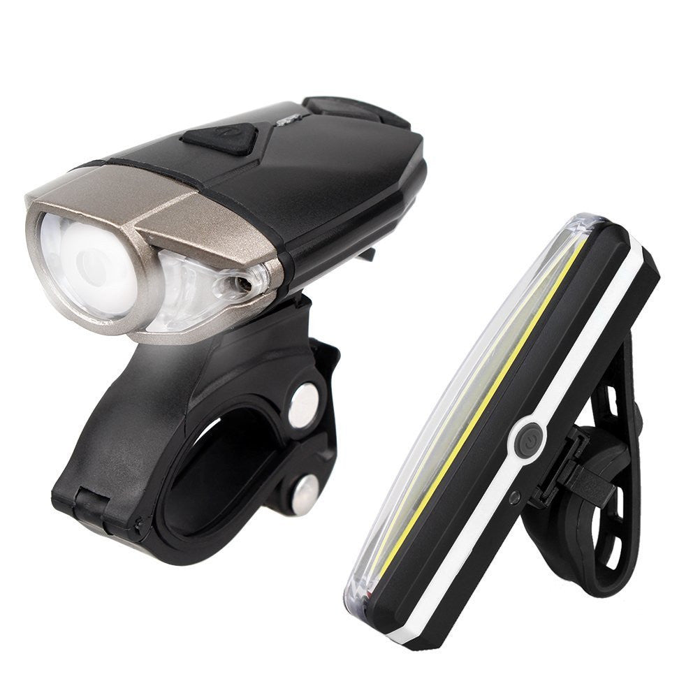 Costbuys  1200mAh Bike Light Front Holder accessories Cycling usb Rechargeable Lamp LED Flashlight for bicycle Light Bike headli