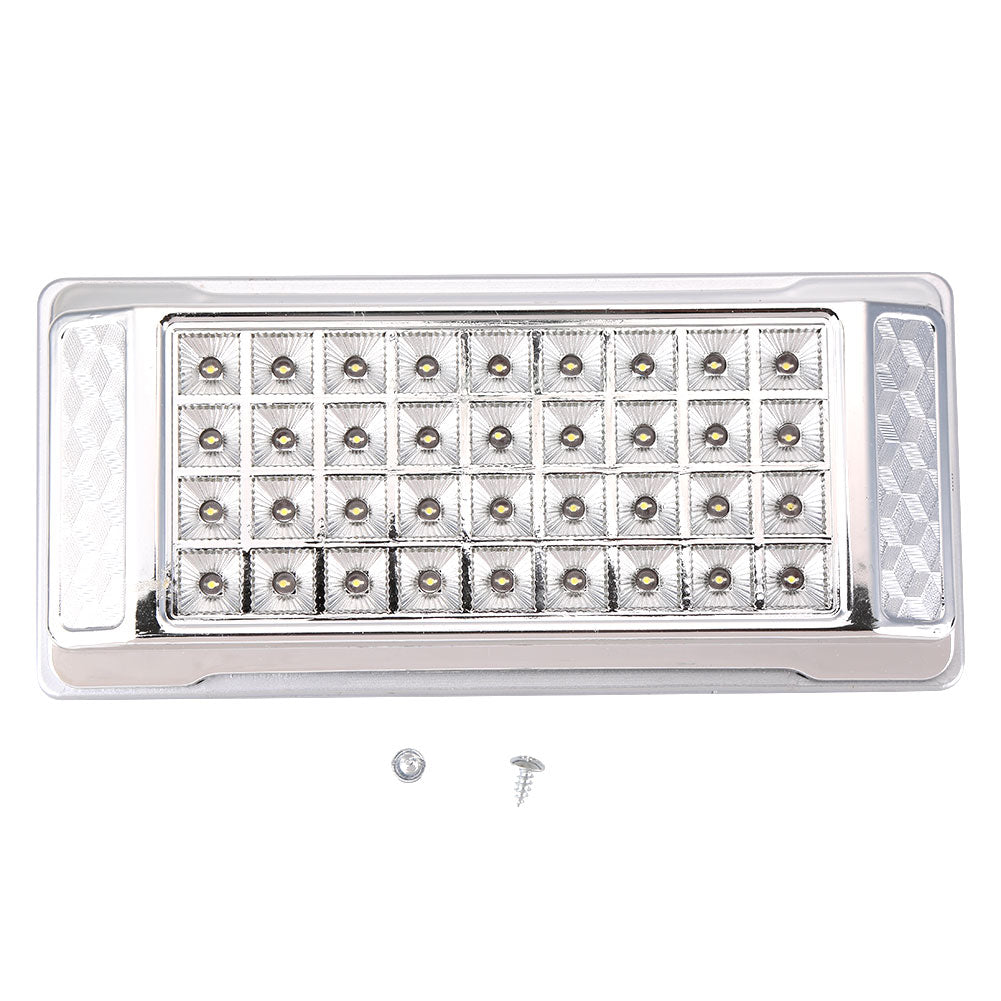Costbuys  12V Car LED Square Roof Light Auto Vehicle Indoor Reading Lights Lamps Part