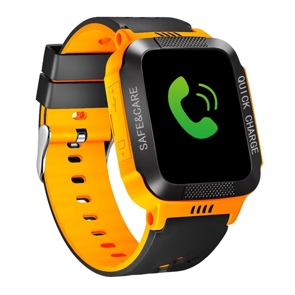 Costbuys  Smart Bracelet with Camera Flashlight Touch Screen Smart Watch SOS Phone Call GPS Tracker Children Watch - 5 / Austral
