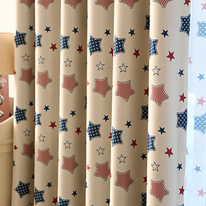 Costbuys  Cheap Stars Children Cloth Curtains For Kids Boy Girl Bedroom Living Room Window Treatment Blackout Curtain Ready Made