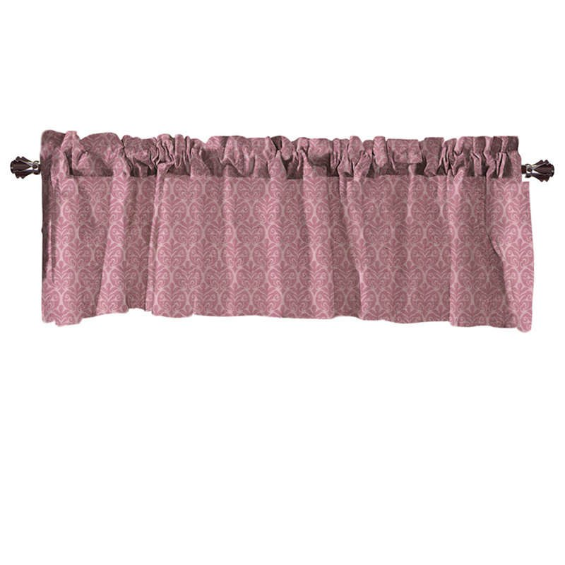 Costbuys  Valance Curtains Extra Wide and Short Window Treatment Kitchen Living Covering Valance Curtains for living room - C /