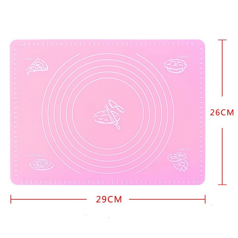 Costbuys  Silicone Baking Mat Pizza Dough Maker Pastry Kitchen Gadgets Cooking Tools Utensils Bakeware Mats Liners Stuff Supplie