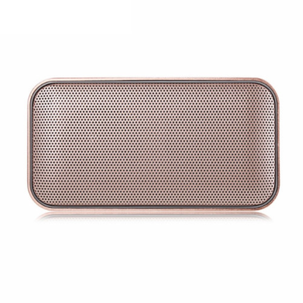 Costbuys  Portable Bluetooth Speaker Pocket Hands-free Home Office Audio Wireless Bluetooth Speaker Ultrathin Stereo Mini Speake