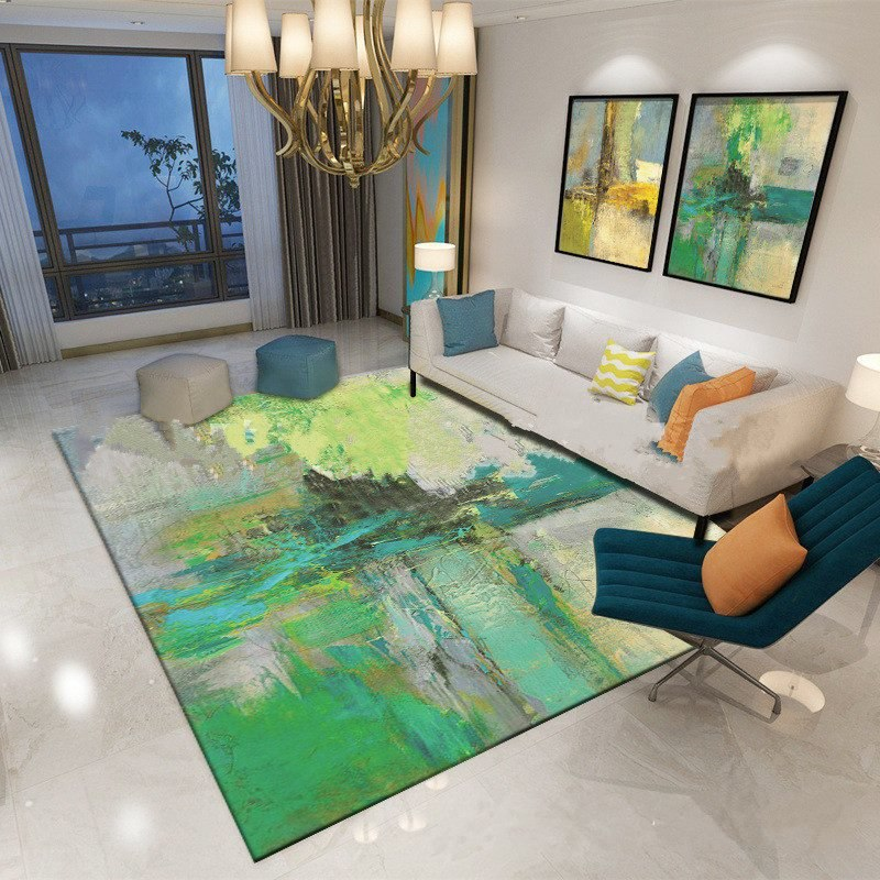Costbuys  Home Decor Carpets for Living Room Coffee Table Room Bedroom Mat 80x120cm Non-slip Floor Rug soft - Y02 / 80x120cm