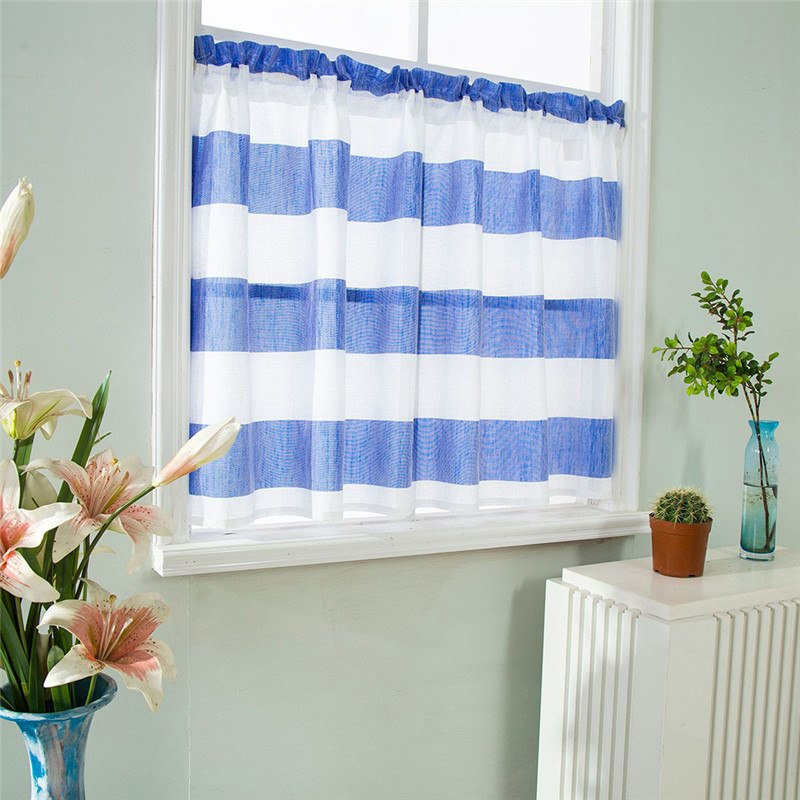 Costbuys  Valance Curtains Extra Wide and Short Window Treatment Kitchen Living Bathroom 10.15 - A