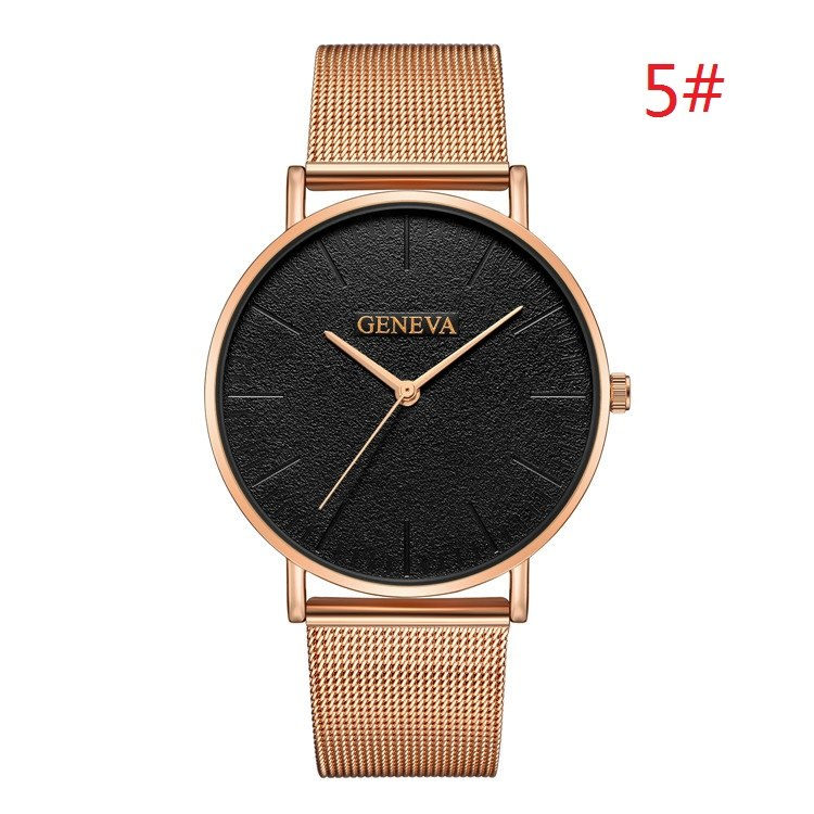 Costbuys  Women's Watch Ladies Watches For Women Rose Gold Watch Women Simple Bracelet Montre Femme - rose gold / China