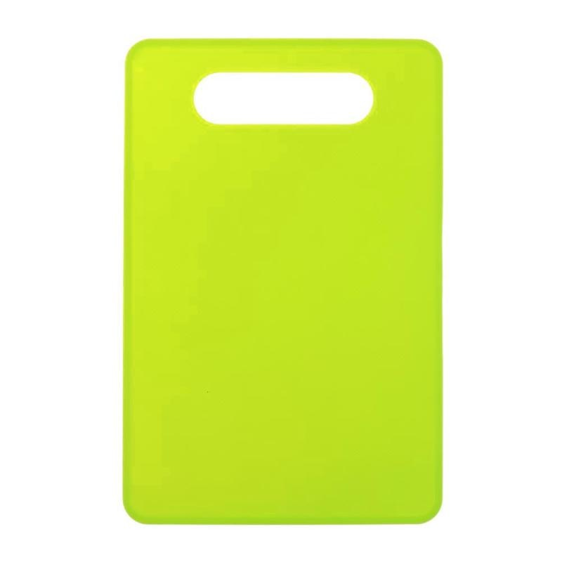 Costbuys  Non-slip Cutting Board Anti Bacterium Plastic Chopping Board Hang Hole Food Slice Cut Chopping Block Kitchen Tools - G