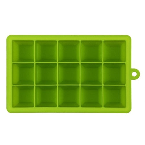 Costbuys  Silicone Form for Ice Mold Tray Fruit Popsicle Ice Cream Maker for Wine Party Kitchen Bar Drinking Accessories 5 Color